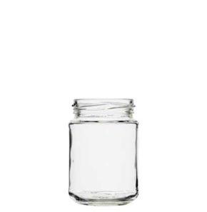 Jar 196 ml white TO58