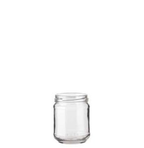 Jar 212 ml white TO63