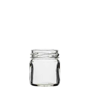 Jar 41 ml white TO43