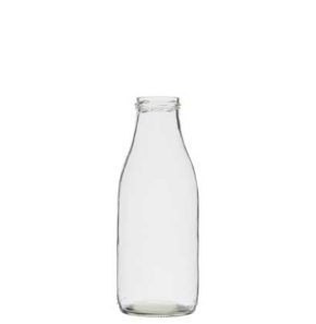 Juice bottle 100 cl white TO53