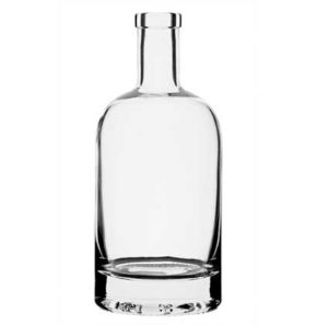 Nocturne Whisky bottle bartop 50cl white