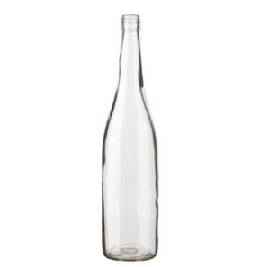 Rhine wine bottle BVS 75 cl white BSN
