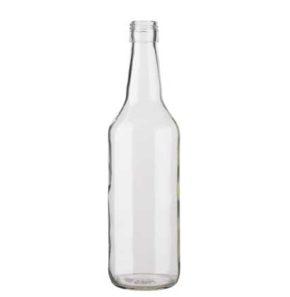 Spirit bottle round DV 31.5/H44 70 cl white