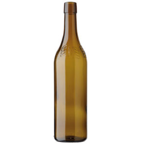 Vigneron Encaveur CH wine bottle bartop 70cl oak