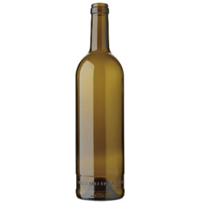 Vigneron encaveur wine bottle cétie 75cl oak
