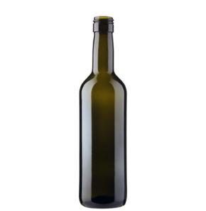 Weinflasche Bordeaux BVS 37.5cl antik Prestige