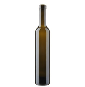 Weinflasche Bordeaux Oberband 37.5cl antik Vinaria H60mm