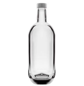 Whisky bottle 75 cl white Moonea