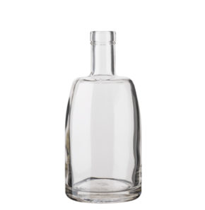 Whisky bottle bartop 50 cl white Natura