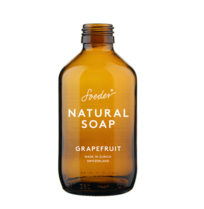 personalised soap bottle