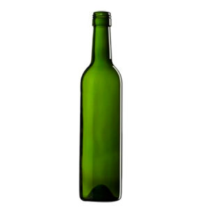 Bordeaux Wine bottle BVS 30H60 50cl green Medium