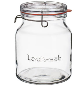Jam jar 2000ml Lock Eat