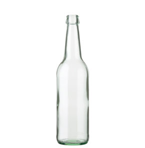 Beer bottle crown 50cl Long Neck white