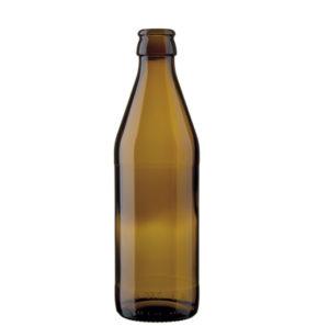 Bottiglia di birra corona 33cl Euro marrone