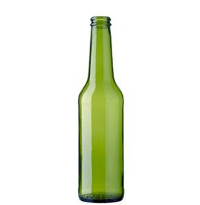 Bouteille à bière couronne 33cl Pivo Long Neck vert