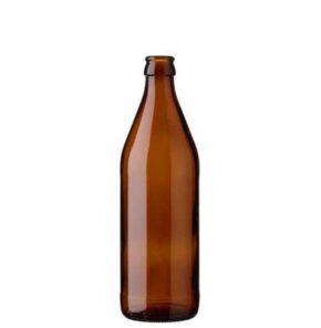 Bouteille à bière couronne 50cl Euro brun (OW)