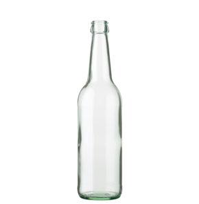 Bouteille à bière Couronne 50cl Long Neck blanc