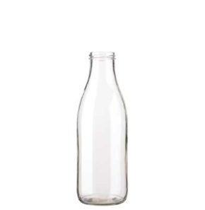 Juice bottle 100 cl white TO48 Fraîcheur