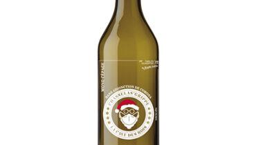Personalisierte Weinflasche