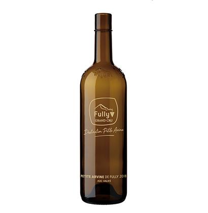 Bouteille de vin personnalisée | Association Fully Grand Cru