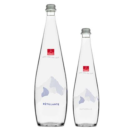 Personalisierte Wasserflasche | Eau du Valais