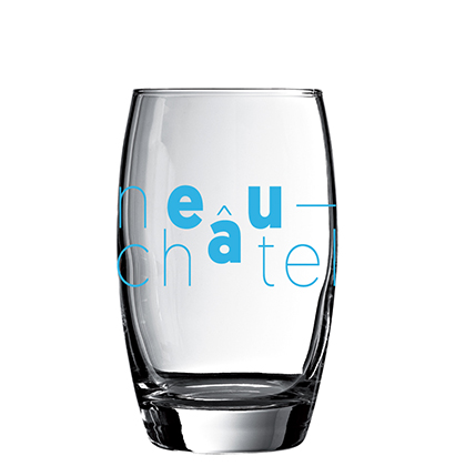 Personalized water glass