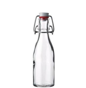 Bottiglia di succo tappo meccanico 20 cl bianco