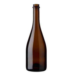 Champagne bottle crown 75 cl oak Cuvée Tradition