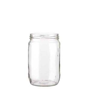 Pot à conserve 660 ml blanc TO82