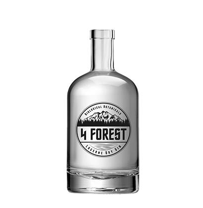 Personalisierte Glasflasche | 4 Forest
