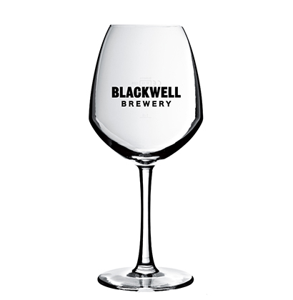 Engraved beer glass Blackwell Brewery