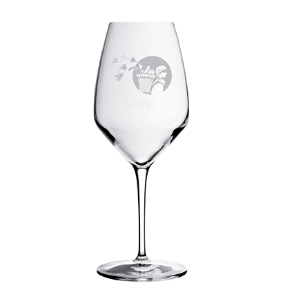 Bicchiere di vino personalizzato La Cavagne