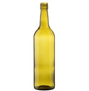 Bottiglia di vino bordolese BVS 70cl foglia-morta