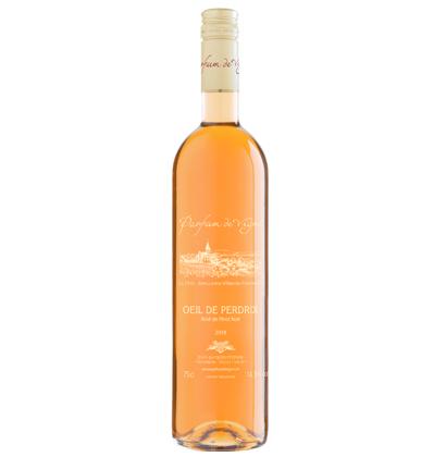 Bouteille de vin rosé personnalisée