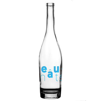 Personalisierte Glaswasserflasche   Ville de Neuchâtel