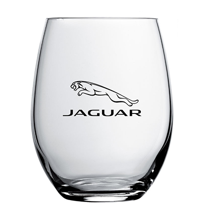 Personalised water glass | Driving Evolution Group