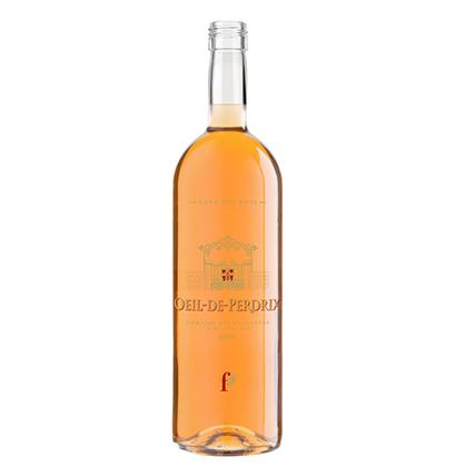 Personalisierte Roséweinflasche