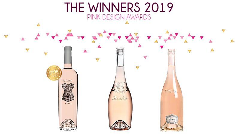 Vin rosé Pink Design Awards