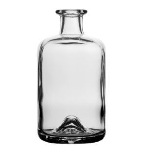 Apothecary bottle 70cl white Spirit Bocca 18.3mm