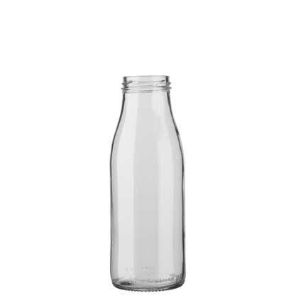 Milk bottle 50 cl white TO48 Fraîcheur