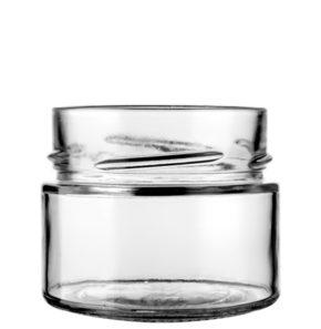 Pot en verre 106ml blanc TO70 Deep H18 Ergo