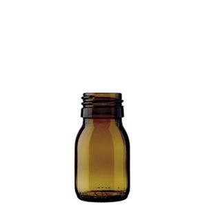 Spirit bottle 30ml antique Sirop Spezial