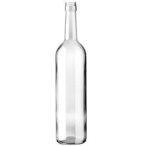 Weinflasche Bordeaux BVS 30H60 75cl weiss Harmonie