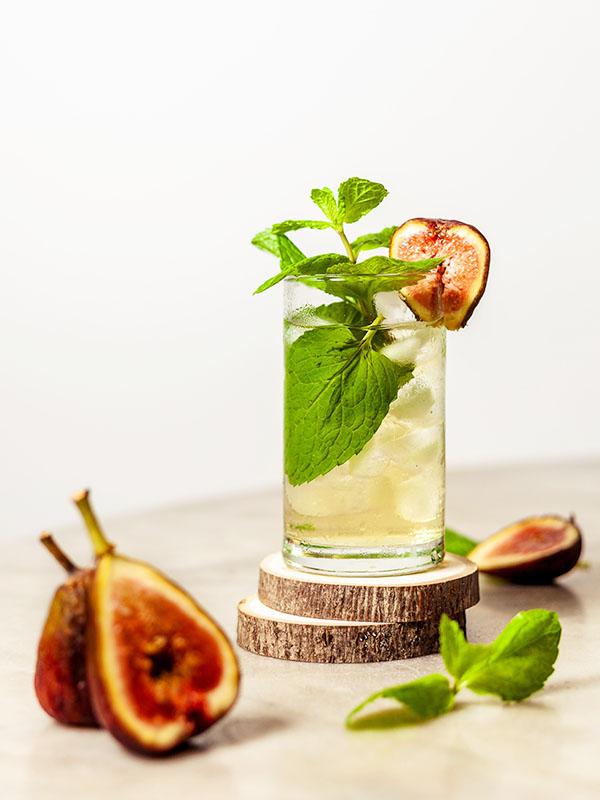 Mocktail alkoholfreie Destillate