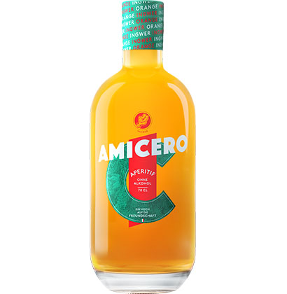 Non-alcoholic distilled spirits Amicero ©shop.goba-welt.ch