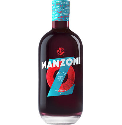 Non-alcoholic distilled spirits Manzoni ©shop.goba-welt.ch