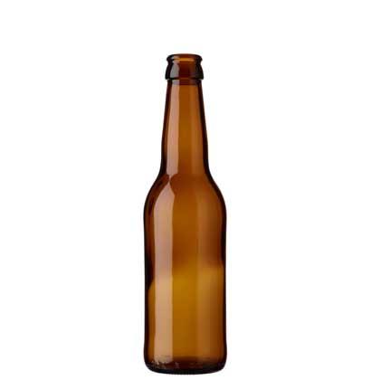 Beer bottle crown 33cl Long Neck brown