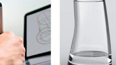 votre propre forme de verre de table