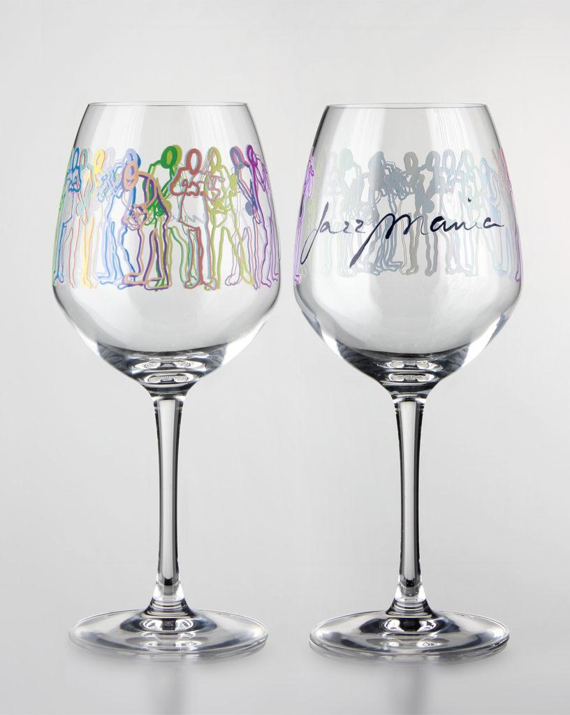Digitaldruck auf Weingläser