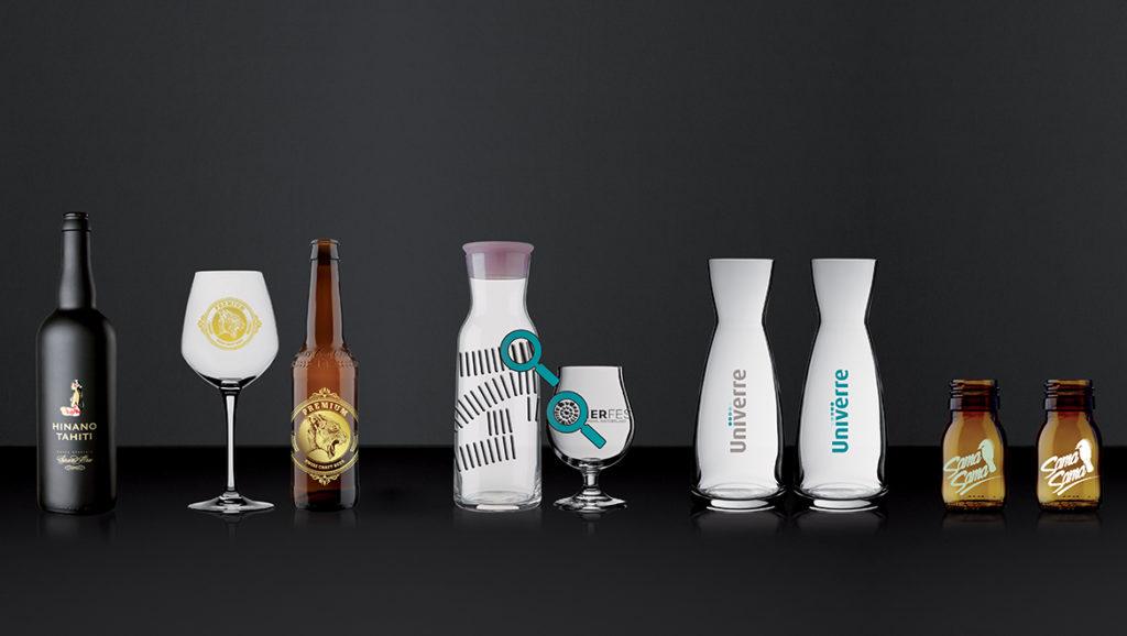 Druckarten - die eigene Glasform